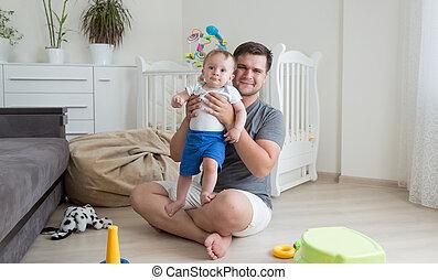 niño, el suyo, viejo, habitación, piso, padre, 9, polillas,...