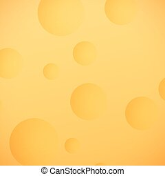 Lunar Surface Background, Yellow Moon, Space Planet with...