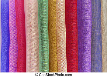 organza fabric texture - close up of organza fabric texture...