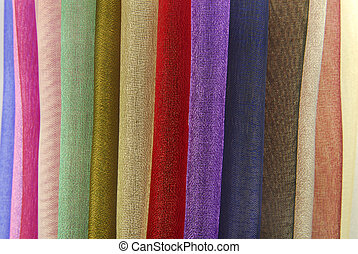 organza fabric texture - closeup of organza fabric texture...