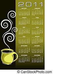 2011 coffee calendar