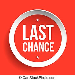 Last Chance round label