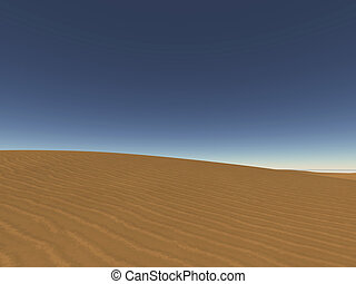 dune - digital visualization of a dune