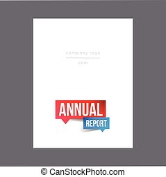 Annual Report vector