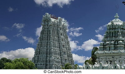 Suchindram temple, South India - Suchindram temple dedicated...