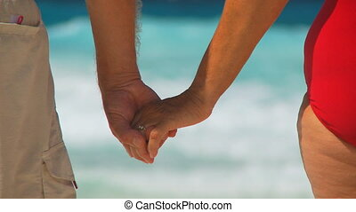 holding hands shot transition