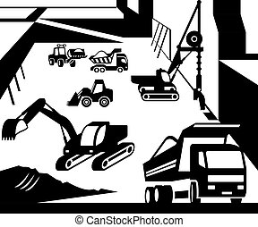 Construction machinery - Construction and excavation...