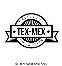 Mexican Cuisine vintage sign - Tex-Mex