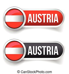 Austria button set