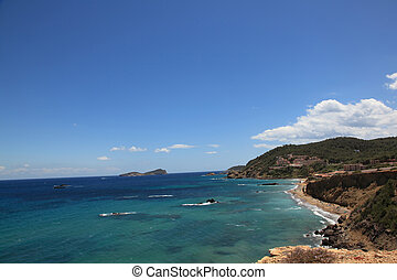 Ocean View - Ibiza Ocean View from a mountain