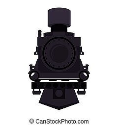 steam locomotive vehicle - steam locomotive rail transport...