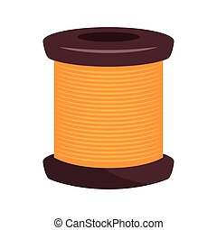 spool of thread thread knit - spool of thread knit. sewing...