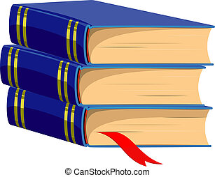 Stack of Books Vector illustrotion Over white EPS 8, AI,...
