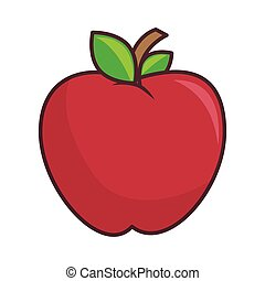 red apple fruit health food agriculture nutrition snack...