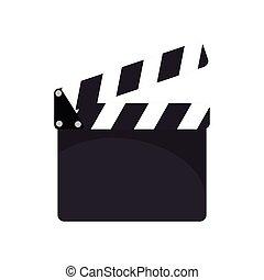 cinema clapboard device - cinema action clapboard filmmaking...