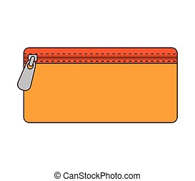 pencil case school accessory - pencil case with zipper...