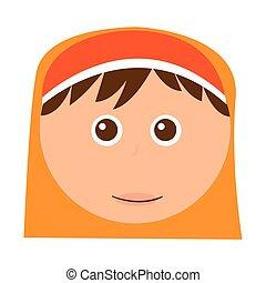 shepherd cute manger character vector illustration design