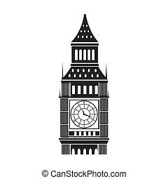 big ben london - iconic big ben london city building....