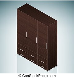 Furniture: Small Chest of Drawers