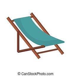 beach chair wooden