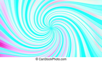 Retro swirl of colors loop