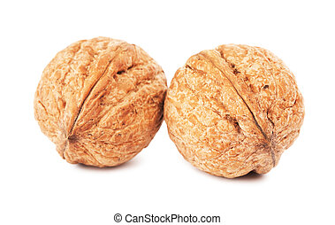 Two Walnuts In A Shell