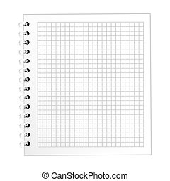 note book school isolated icon vector illustration design