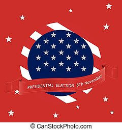 Election day - United states of America Election day, Vector...