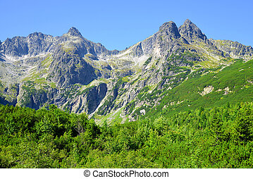 High Tatra Mountains, Slovakia - Dolina Zeleneho plesa...