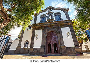 Catholic church in Funchal, Madeira Island, Portugal