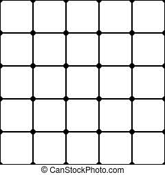 Grid seamless pattern. - Corolful seamless background,...