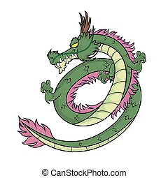 The Green Dragon - Picture of Chinese Green Dragon