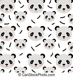 panda bear background - panda bear animal character cute...