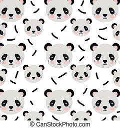 panda bear background - panda bear animal character cute...