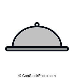 metal platter restaurant - platter restaurant metal waiter...