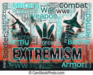 Extremism Words Indicates Radicalism Fundamentalism And...