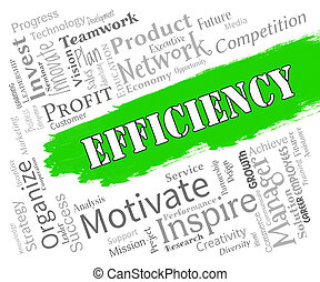 Efficiency Words Indicates Improve Effectiveness And...