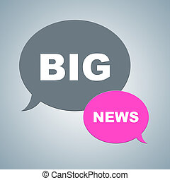 Big News Means Social Media And Article Facts - Big News...