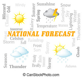 National Forecast Shows Meteorological Conditions For The...