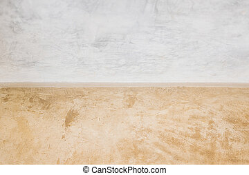 Concrete floor and wall texture