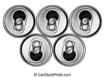 Cerveja,  metal, latas