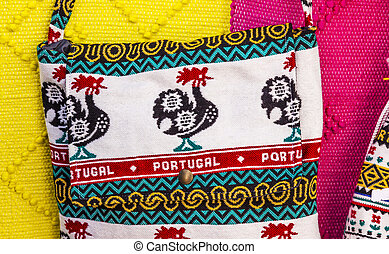 Rooster Bags Handicrafts Obidos Portugal
