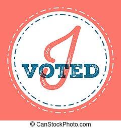 jag, voted, Typografiska, citera, om, den, betydelse, av,...