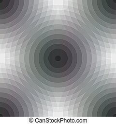 Seamless pattern background with geometric shapes