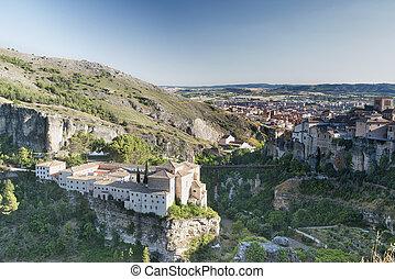 Cuenca Spain, casas colgadas - Cuenca Castilla-La Mancha,...