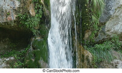 Waterfall, Olympus mountain Greece - Waterfall at Olympus...