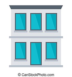 Office Building Illustration - Office building vector...