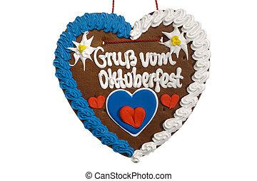 souvenir from Oktoberfest in Munich - sweet souvenir from...