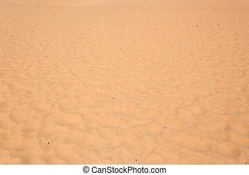 red sand dune desert in Mui Ne, Vietnam