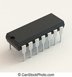 DIP chip package Technology, electronic industry, research...